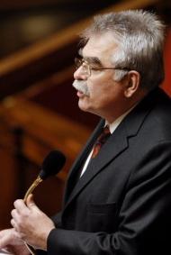 Projet loi OGM: André Chassaigne déçu du sort réservé à son amendement