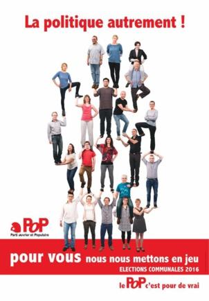 Le Parti  Ouvrier et Populaire seconde force politique à Chaux-de-Fonds (Suisse)