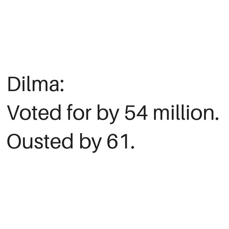 Brésil : Le Sénat destitue Dilma Rousseff