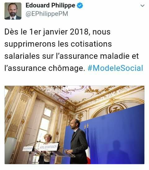 Le gouvernement d'Edouard Philippe s'apprête à détruire la Sécurité Sociale