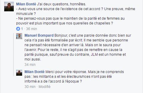 """""""Il faut sauver le soldat Bompard"""" où le recyclage des dirigeants de la France insoumise"""