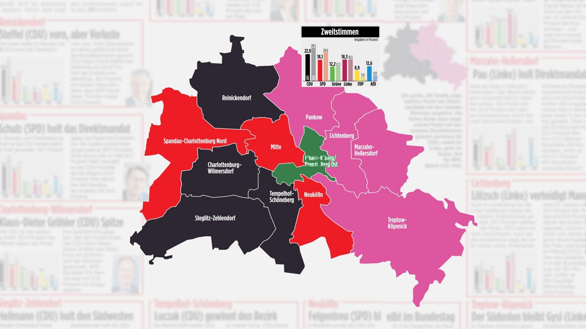 Berlin-Est toujours fidèle à Die Linke