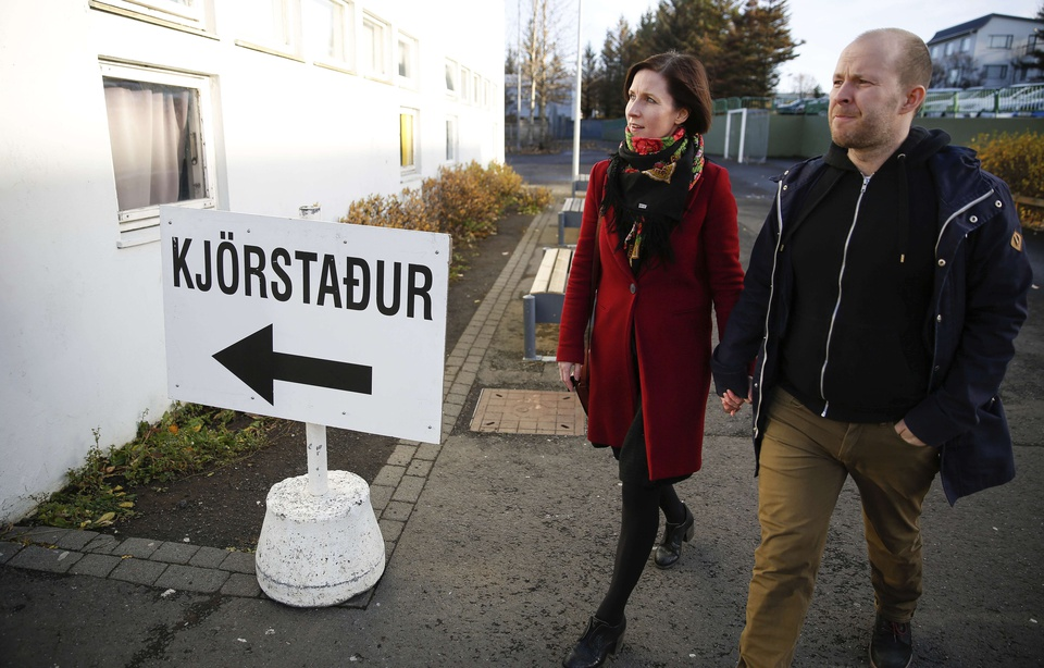 Islande : La gauche islandaise remporte les législatives