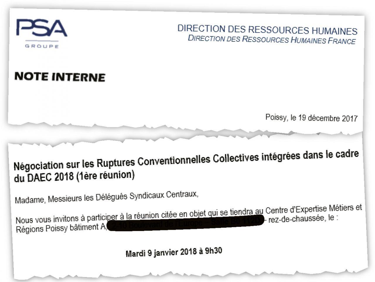 PSA veut supprimer des postes grâce aux nouvelles ordonnances de la loi Travail