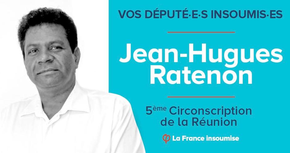 Le député FI de La Réunion, Jean-Hugues Ratenon, soutient le patronat pour casser une société publique pétrolière