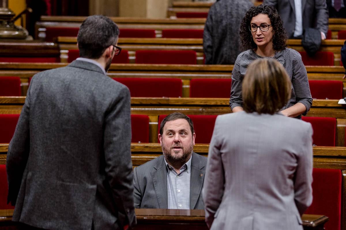 Oriol Junqueras ne pourra pas assister à la première séance du Parlement catalan, une violation flagrante de la Constitution et de la jurisprudence