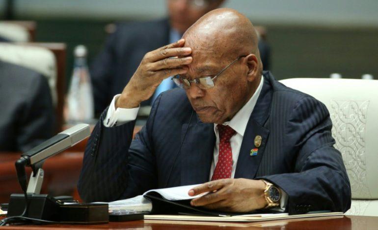 Jacob Zuma, lâché par l'ANC