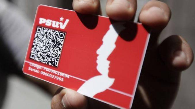 2.648.940 personnes ont déjà en main la carte du PSUV