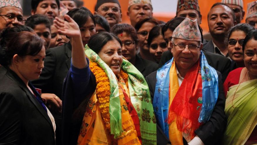 La communiste Bidhya Devi Bhandari (CPN-UML) réélue Présidente du Népal