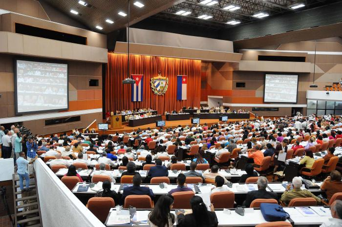 Ouverture de la session constitutive du Parlement cubain