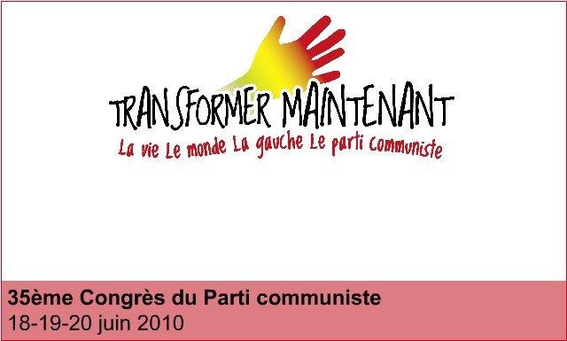 35ème congrès du PCF : Transformation