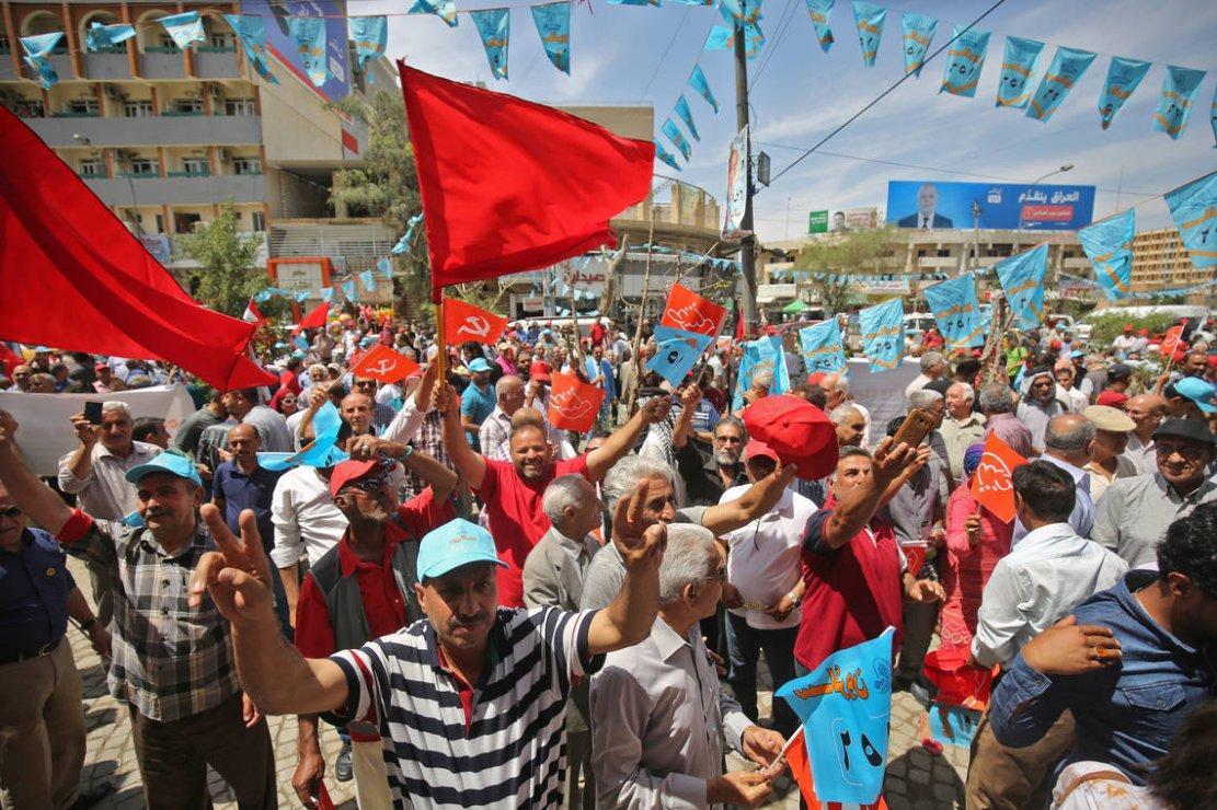 L'alliance communistes/sadristes (chiite) serait en tête des élections législatives en Irak