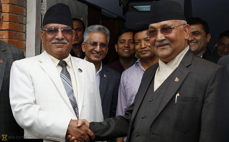 Népal : Les communistes (CPN-UML) et des maoïstes (CPN-MC) se dotent d'une direction politique commune