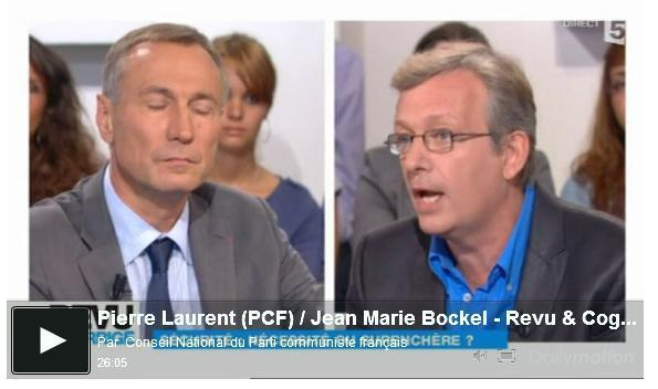 Pierre Laurent (PCF) vs Jean Marie Bockel