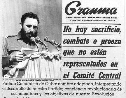 Cuba : Le Parti communiste est un parti de Révolution