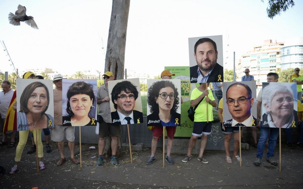 Européennes : Des prisonniers catalans sur la liste communiste ?