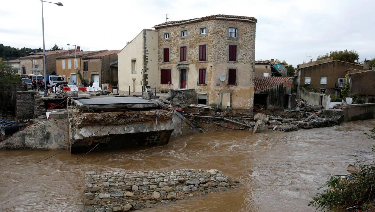 Catastrophe de l'Aude : l'État est au pied du mur (PCF)