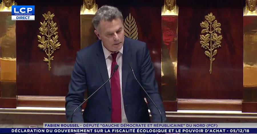 Fabien Roussel (PCF) répond aux propositions du Premier ministre