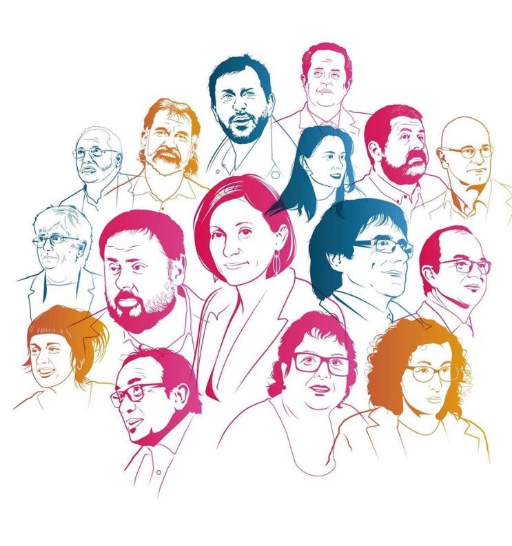 El plé del Diputació del Pireneu Oriental demana que siguin alliberats els presos politics