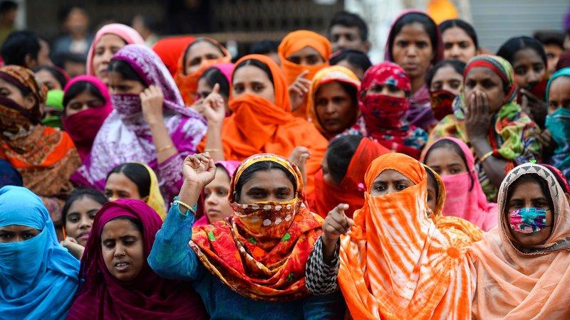 La Fédération Syndicale Mondiale (FSM-WFTU) aux côtés des ouvrières du textile au Bangladesh