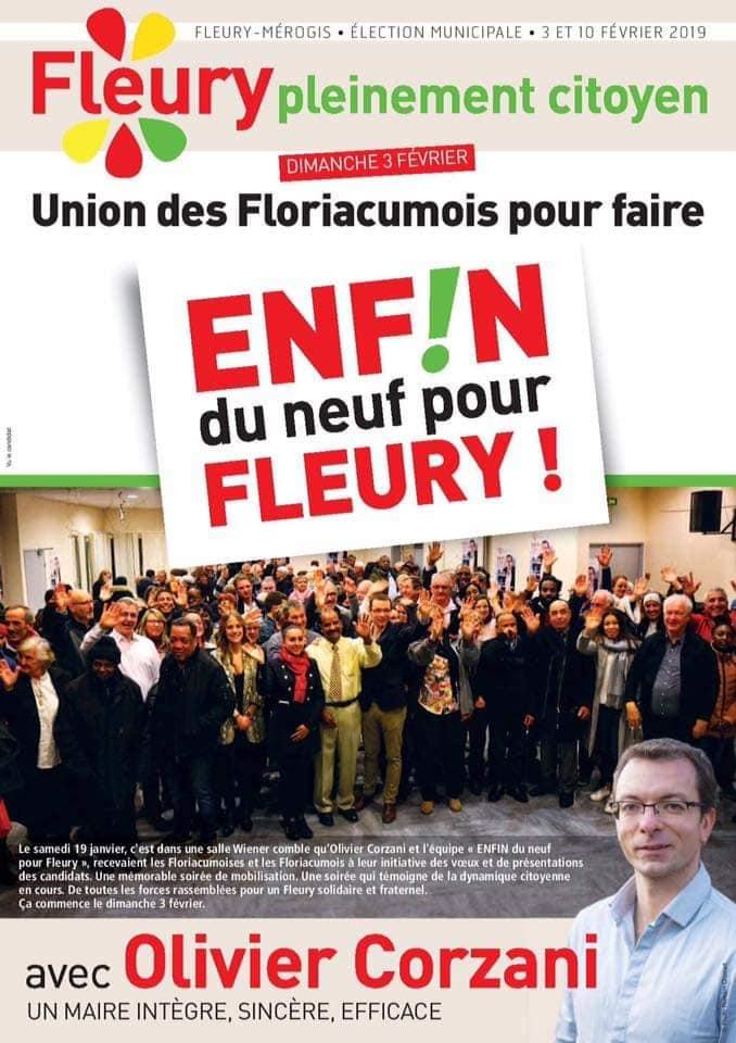 Fleury-Mérogis : la liste menée par Olivier Corzani (PCF) l'emporte dès le 1er tour