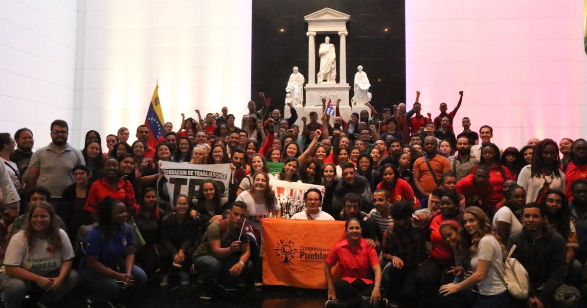 """Une brigade internationaliste, nommée """"Che Guevara"""", est formée en solidarité avec le Venezuela"""