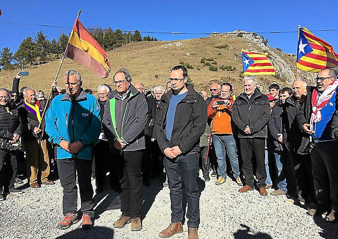 Quim Torra, le président de la Catalogne dans le Vallespir pour célébrer les 80 ans de la Retirada
