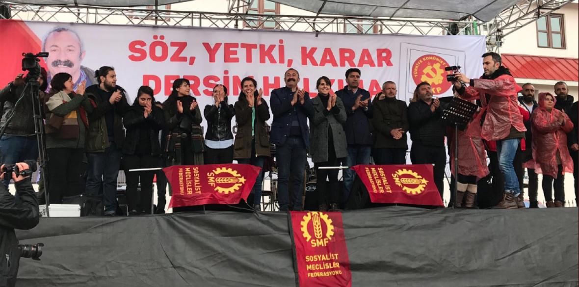 Le maire communiste de Dêrsim empêché d'entrer en fonction
