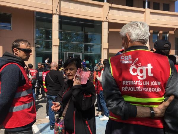 Martigues : trois militants de la CGT placés en garde à vue et déferrés au tribunal d'Aix
