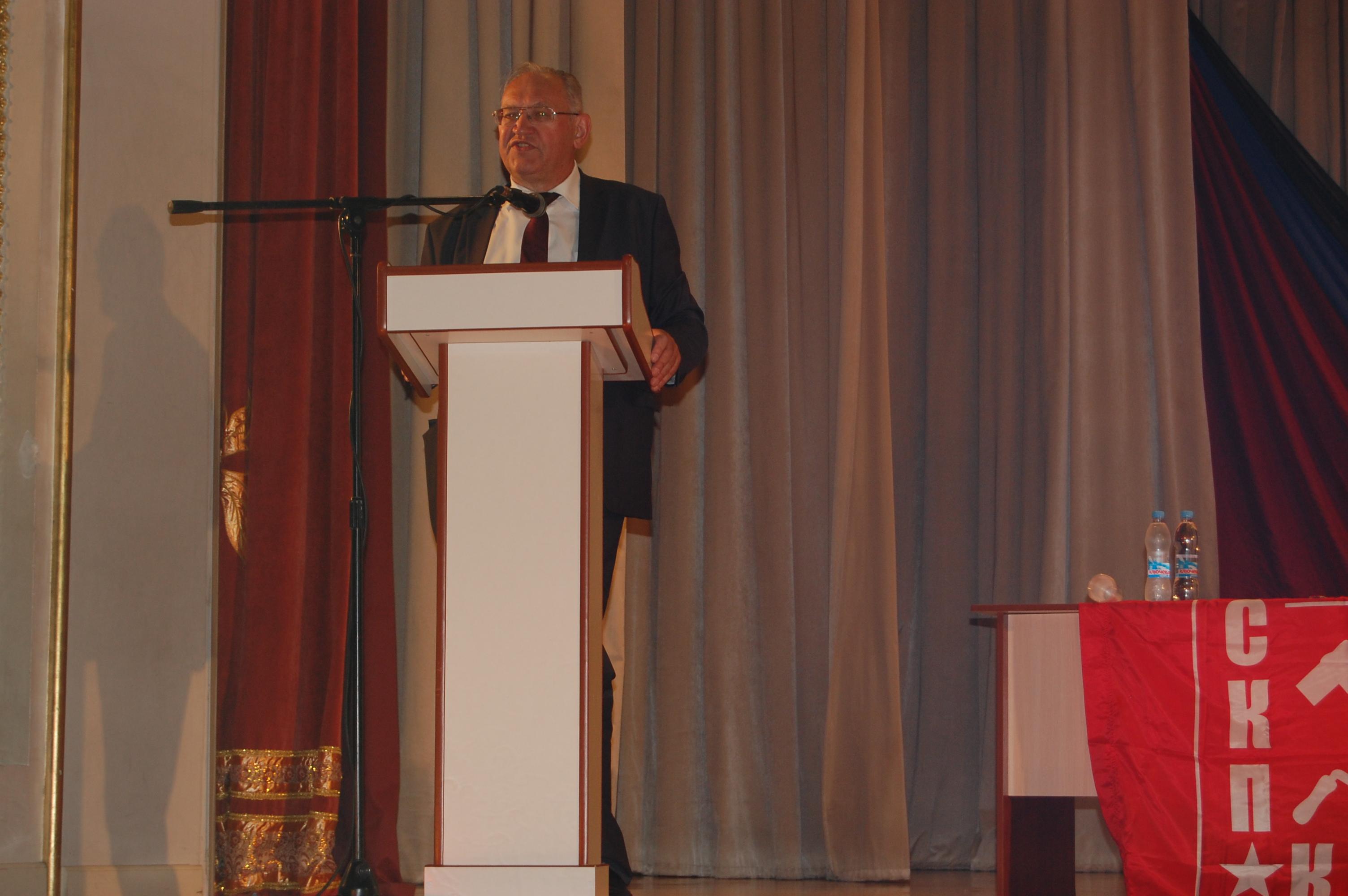 Le 8 juin c'est tenu le 5ème congrès du Parti Communiste de la République Populaire de Donetsk (KPDNR)