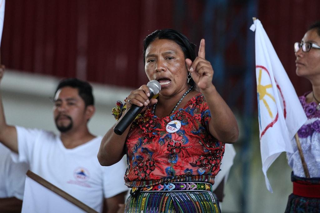 Guatemala : 10,52% des voix pour Thelma Cabrera, femme indigène et porte voix du monde paysan