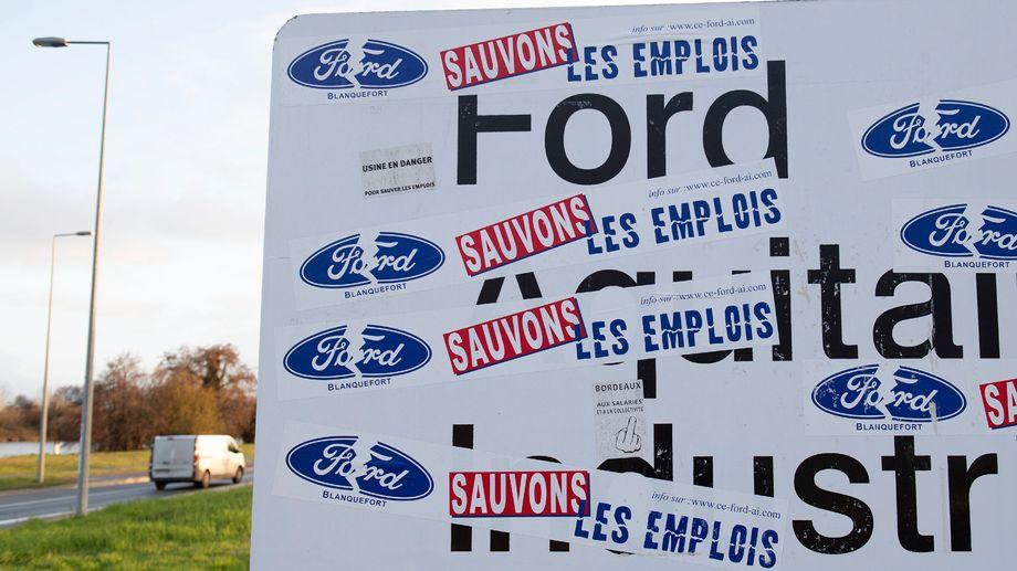 Bordeaux : victoire symbolique pour la CGT Ford Blanquefort