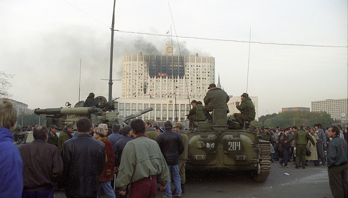 Le 4 octobre 1993, Boris Eltsine abattait à coup de canon la RSFSR