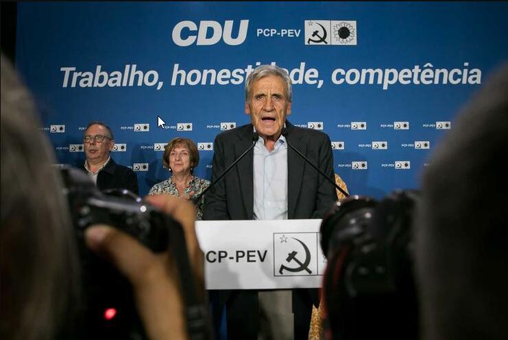 Portugal : La CDU déterminera son positionnement en fonction des options que choisira le PS