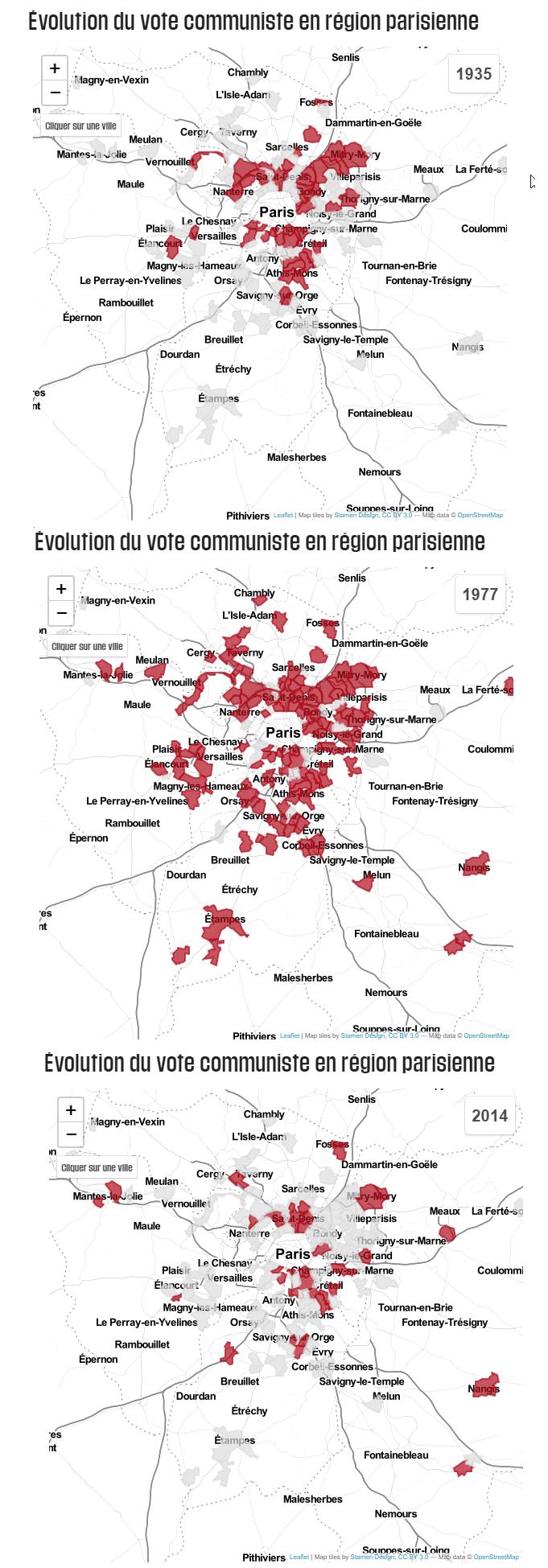 En Ile-de-France, la banlieue rouge se serre la ceinture