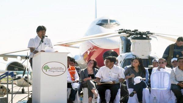 """Amazonie : Evo Morales présente le """"Plan Tajibo"""" pour reboiser la région de Chiquitania"""