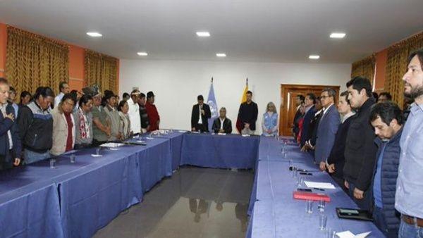 Le gouvernement d'Équateur suspend le décret 883 face à la révolte populaire