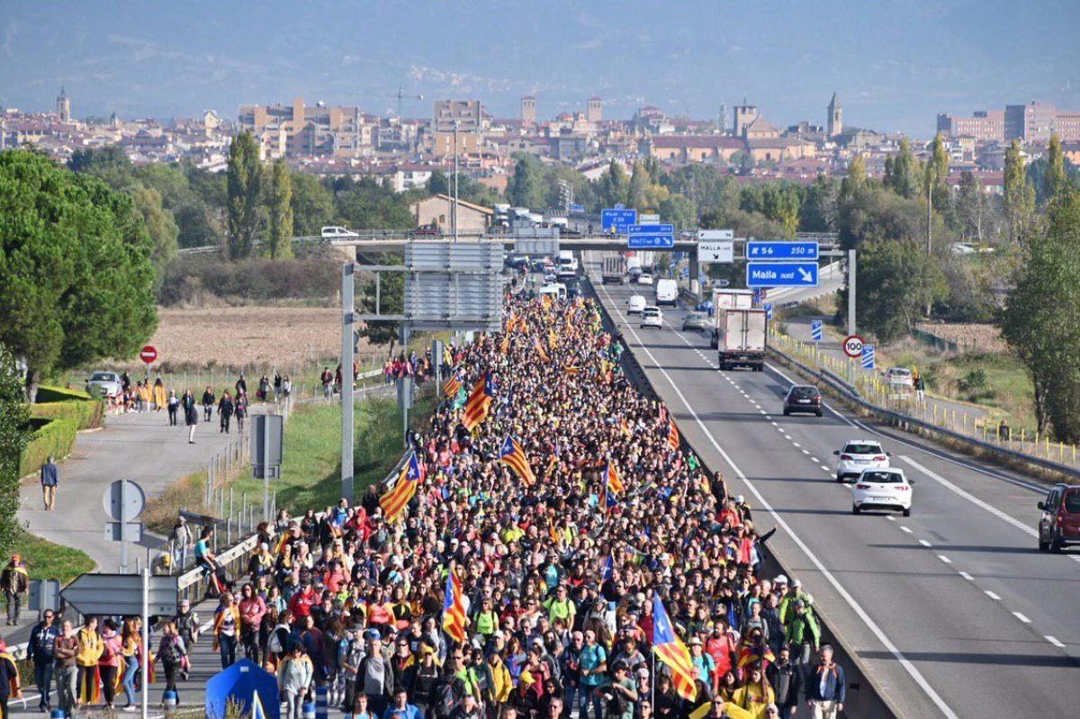 3ème jour de manifestations et de blocages en Catalogne