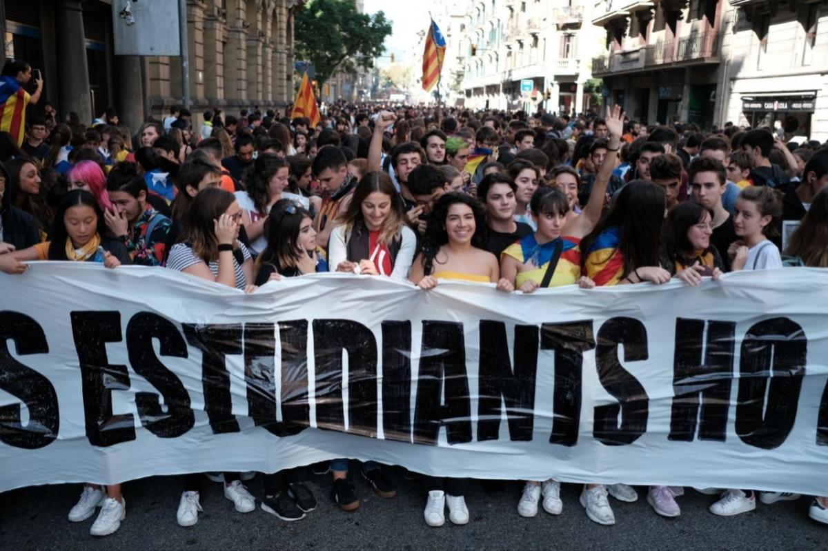 4ème jour de manifestations et de blocages en Catalogne
