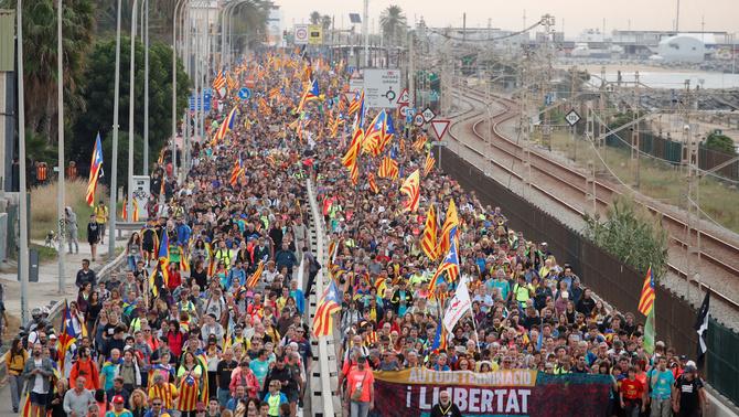 Grève générale massive en Catalogne !