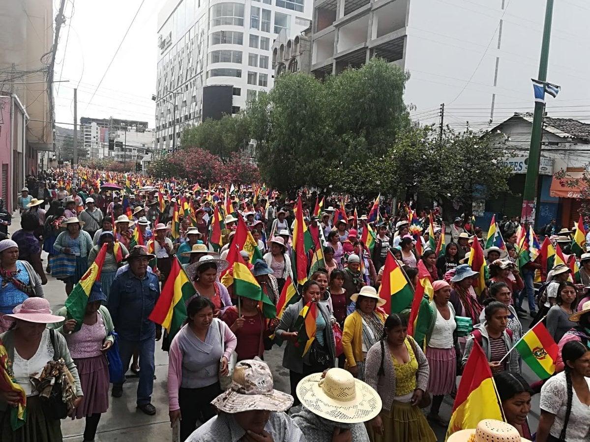 Bolivie: La FSM dénonce les tentatives déstabilisatrices de l'impérialisme