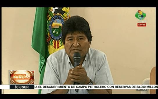 Coup d'Etat en Bolivie: Evo Morales démissionne avant l'attaque de l'opposition