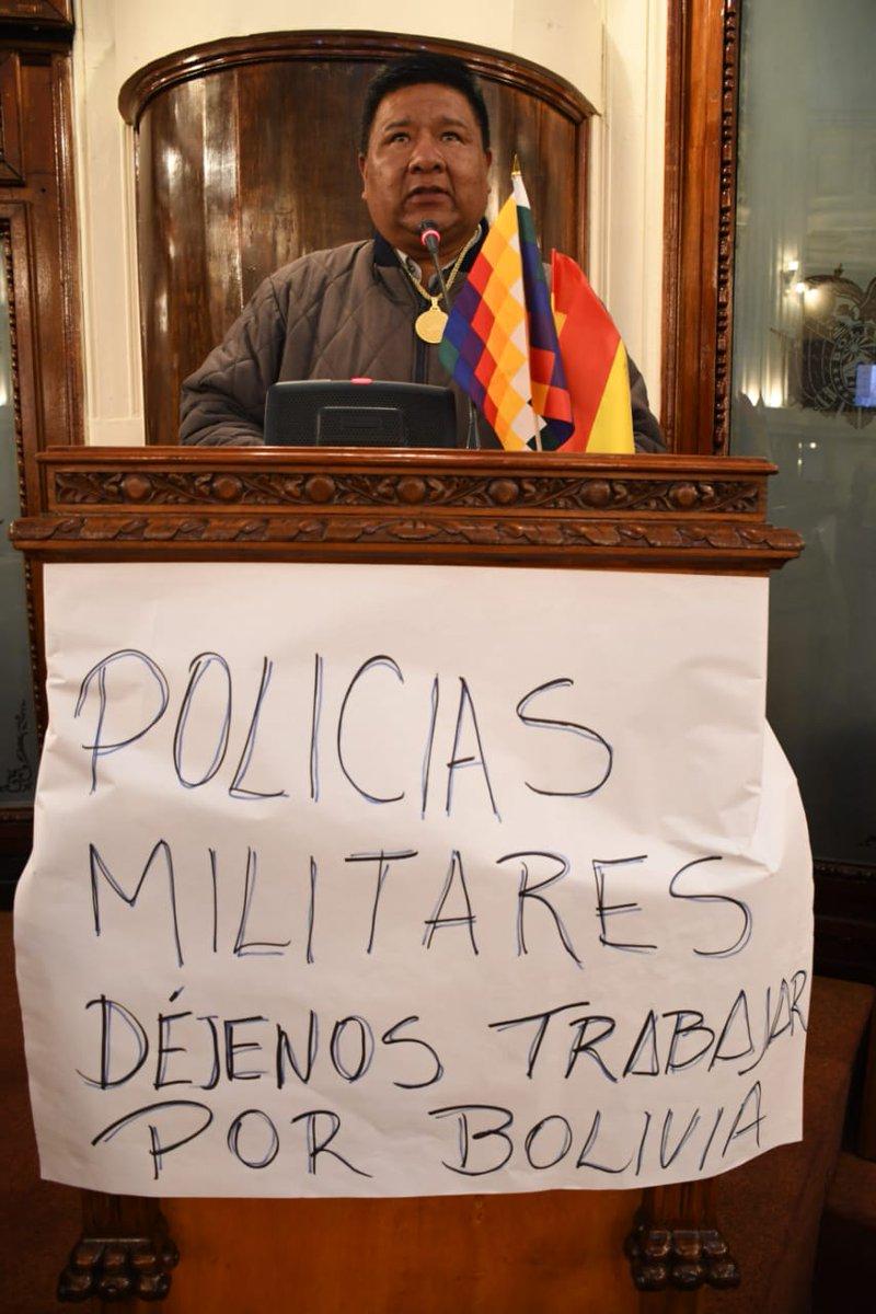 Sergio Choque (MAS) est élu président de la Chambre des député.e.s de Bolivie