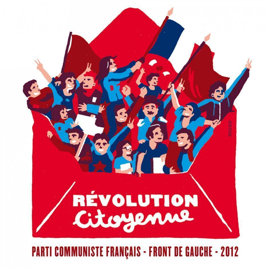 Dernier meeting du Front de gauche - Parc des expositions - Porte de Versailles - Jeudi 19 avril 19h