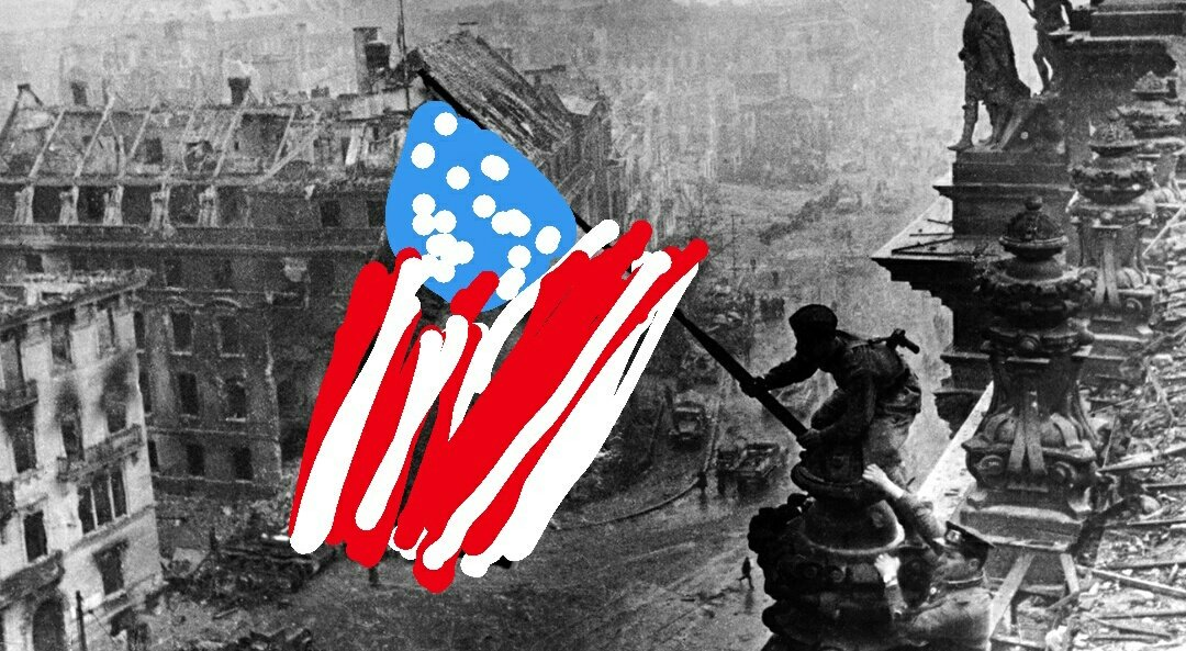 Pour la Maison Blanche, seul les USA et la Grande-Bretagne ont remporté la victoire sur les nazis