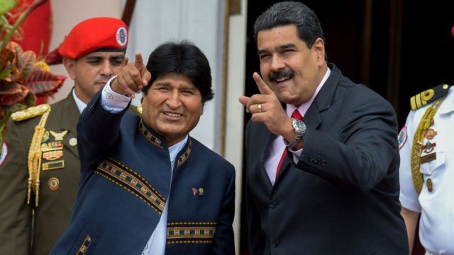 Le régime d'Áñez refuse d'inviter Morales et Maduro à l'investiture du nouveau Président bolivien