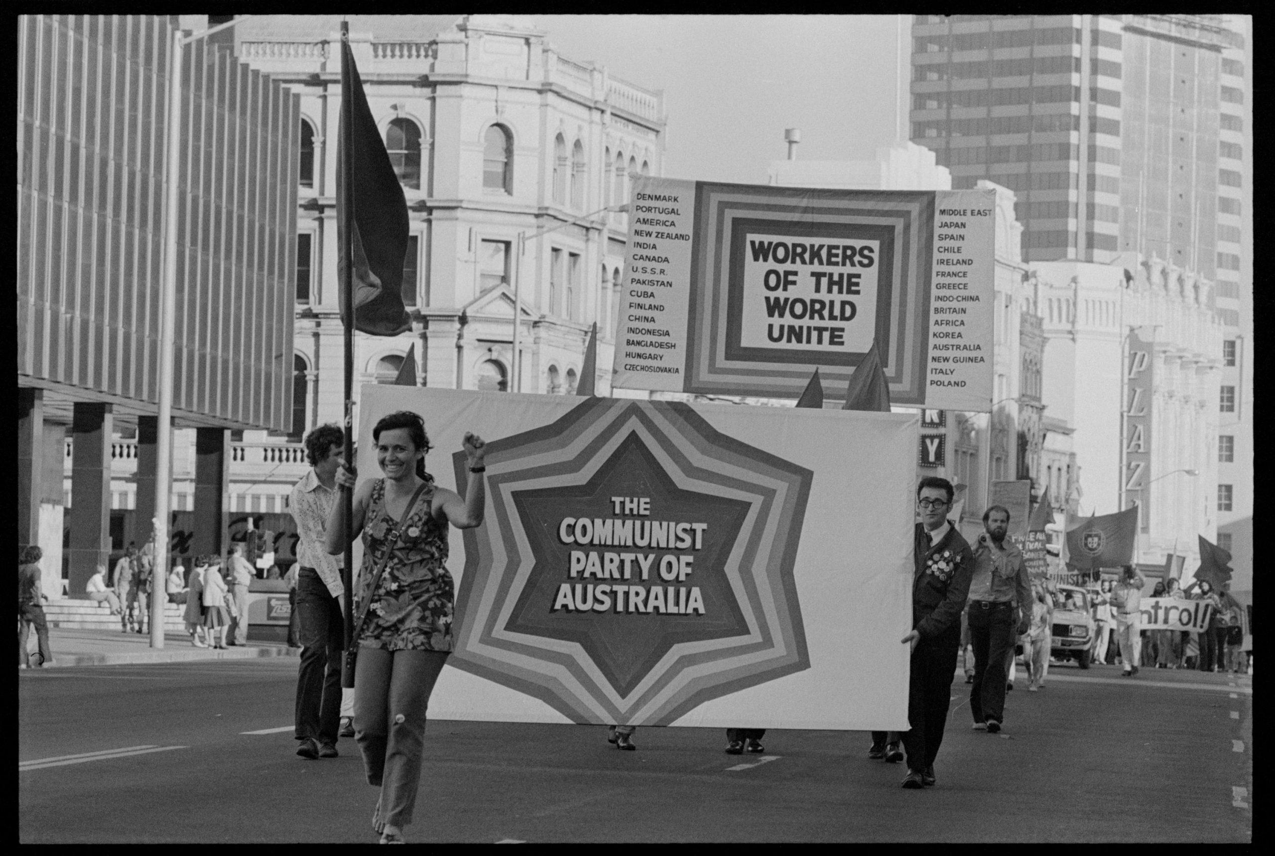 Joyeux 100ème anniversaire au Parti Communiste d'Australie