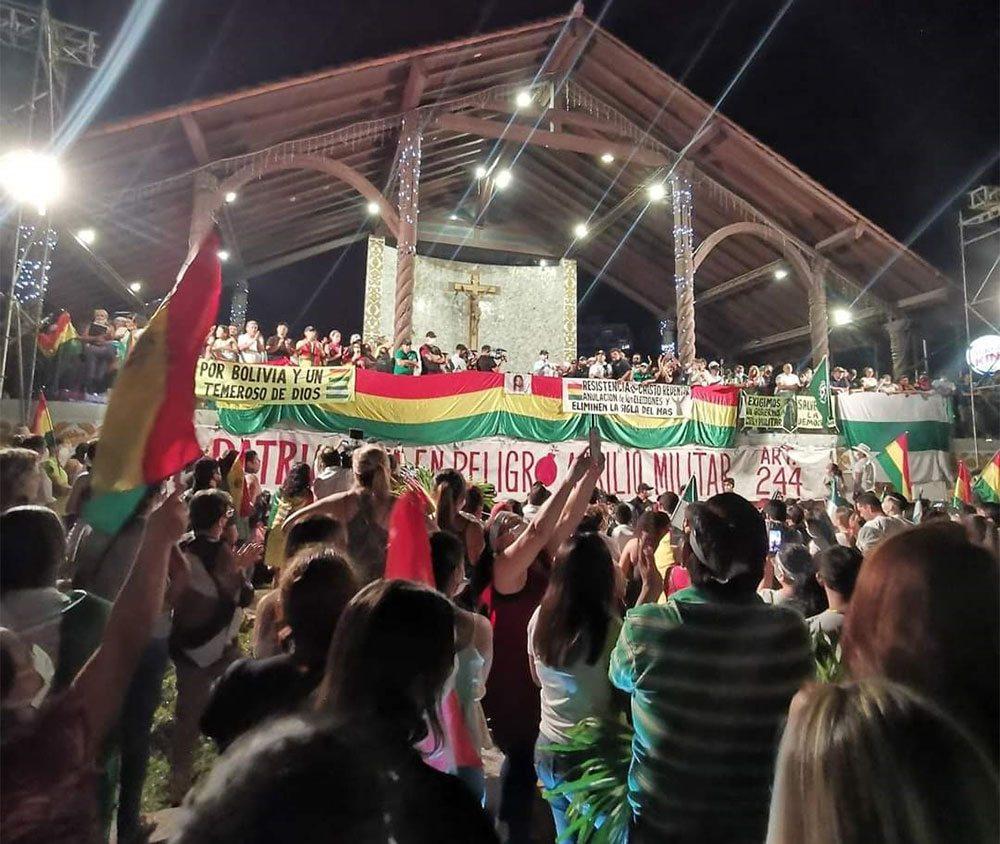 En Bolivie, les fascistes veulent annuler les élections
