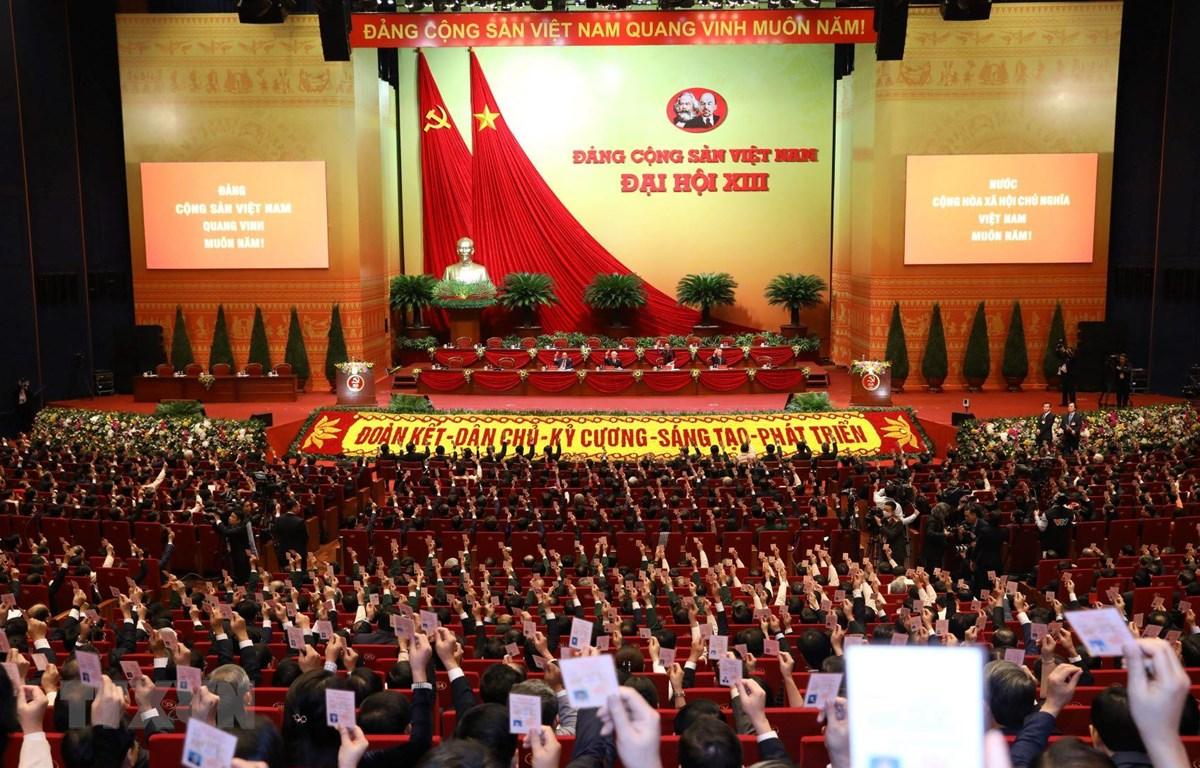 Ouverture du 13ème congrès du Parti Communiste du Viêt Nam