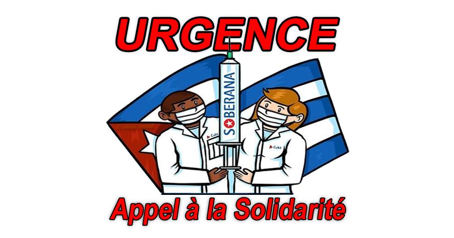L'appelle à la solidarité pour aider Cuba à obtenir du matériel médical